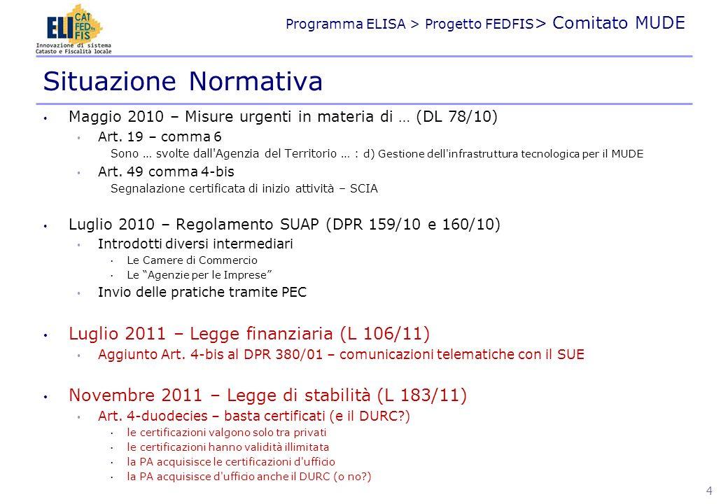 Situazione Normativa Luglio 2011 – Legge finanziaria (L 106/11)