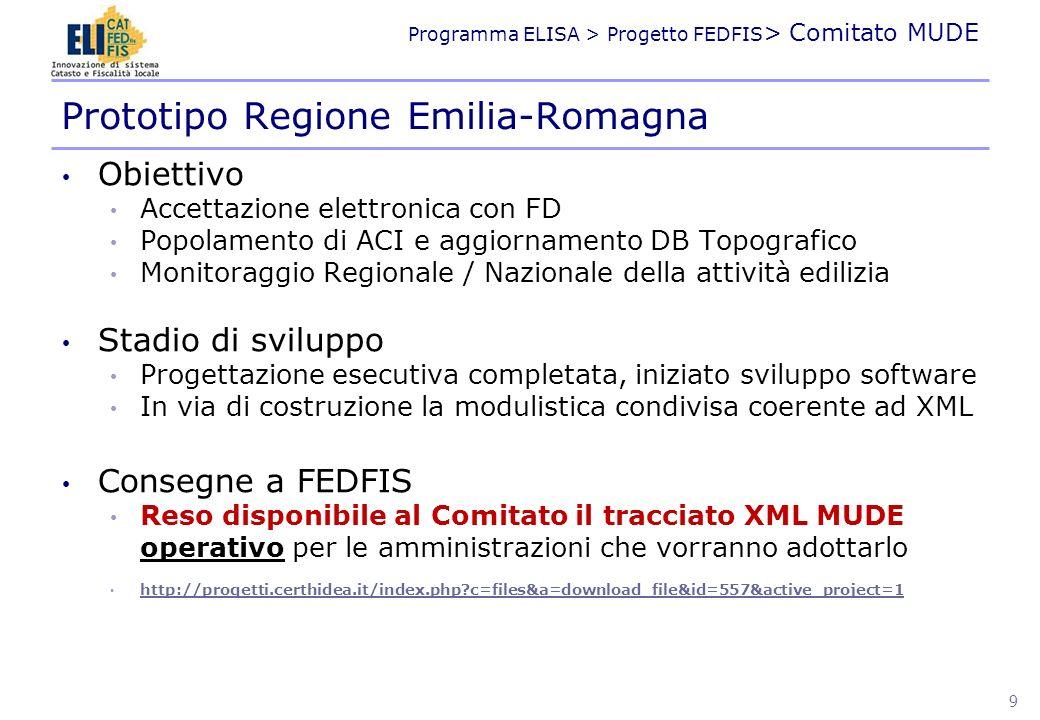 Prototipo Regione Emilia-Romagna