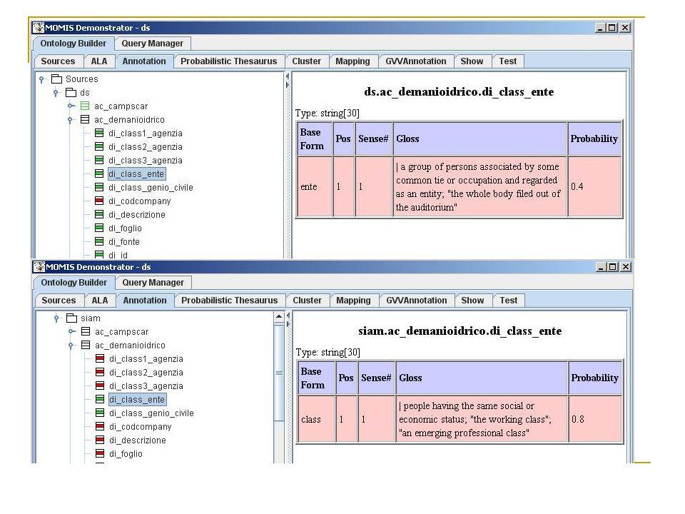 Sviluppo di un database multilingua per l'utilizzo in MOMIS