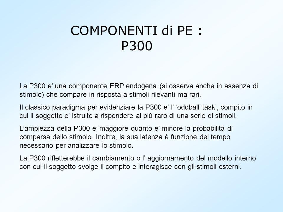 COMPONENTI di PE : P300