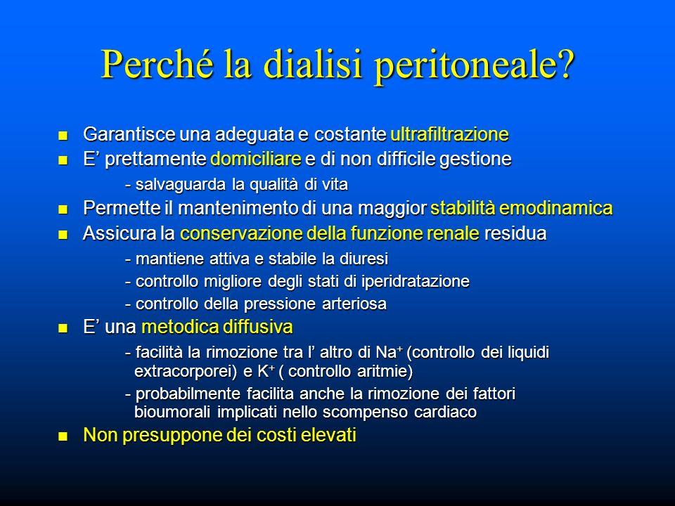 Perché la dialisi peritoneale