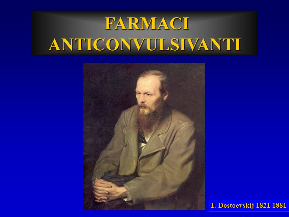 FARMACI ANTICONVULSIVANTI