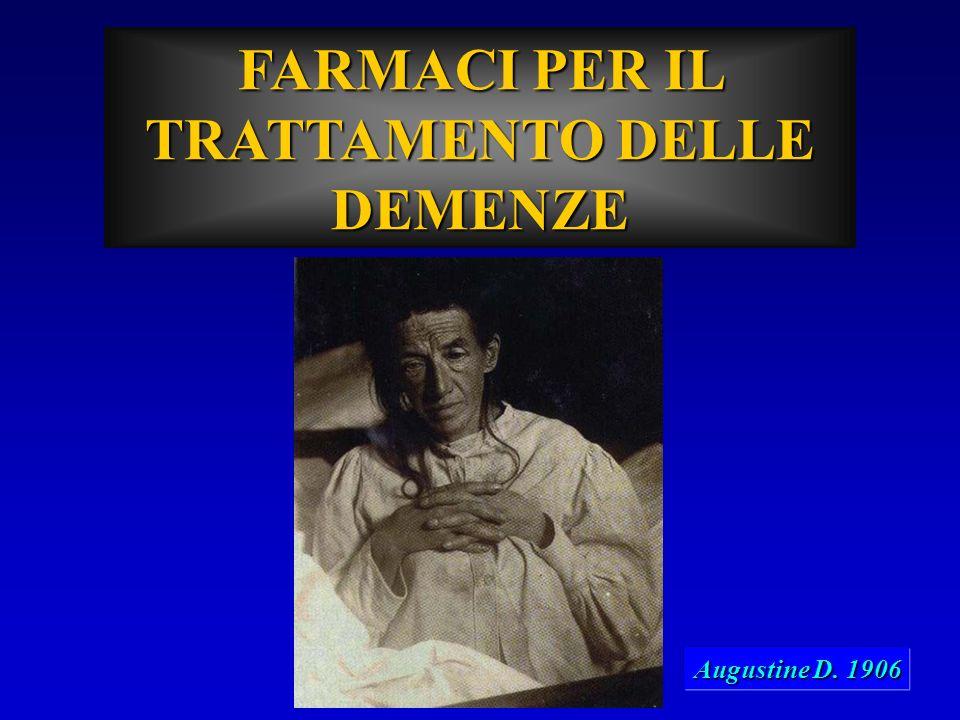 FARMACI PER IL TRATTAMENTO DELLE DEMENZE