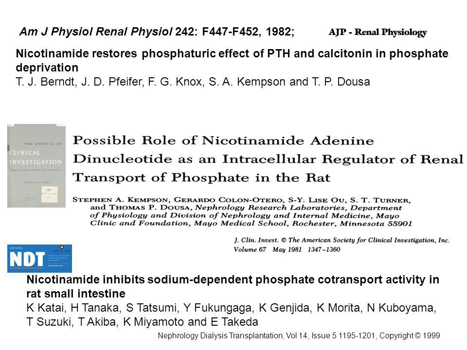 Am J Physiol Renal Physiol 242: F447-F452, 1982;