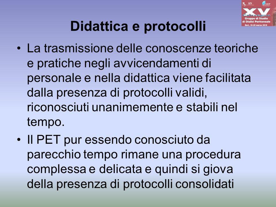 Didattica e protocolli