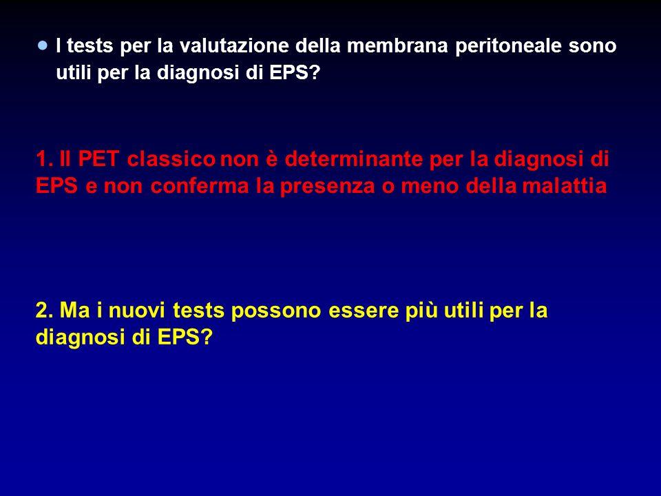 2. Ma i nuovi tests possono essere più utili per la diagnosi di EPS