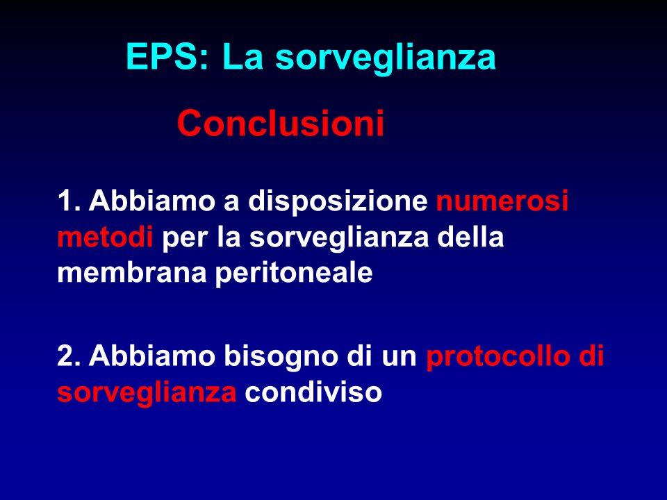 EPS: La sorveglianza Conclusioni