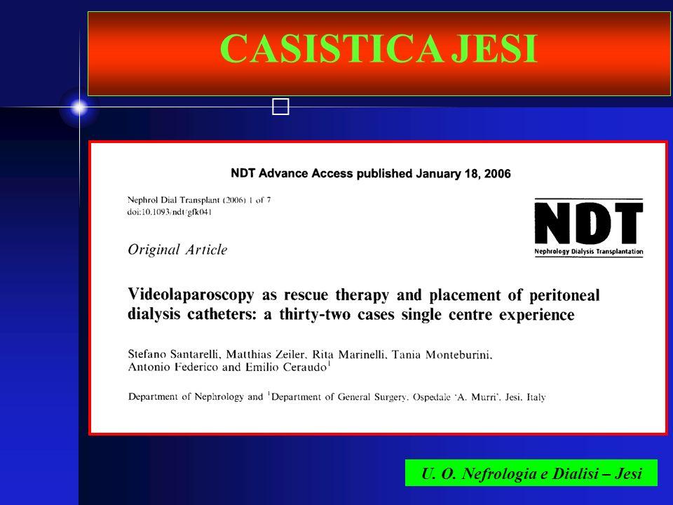 U. O. Nefrologia e Dialisi – Jesi