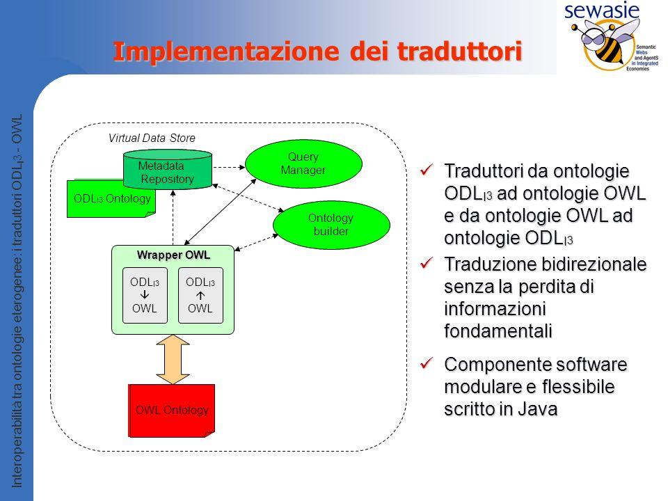 Implementazione dei traduttori