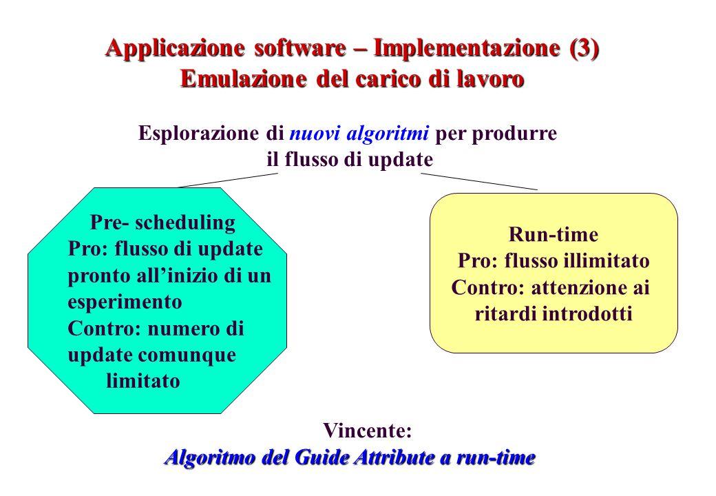 Applicazione software – Implementazione (3)