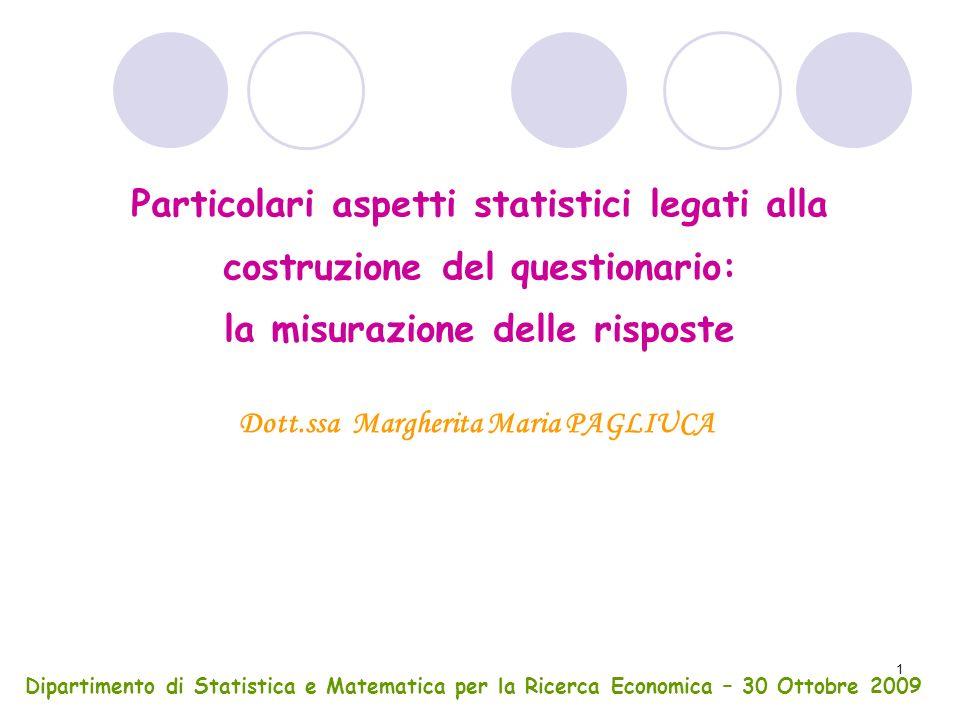 Dott.ssa Margherita Maria PAGLIUCA