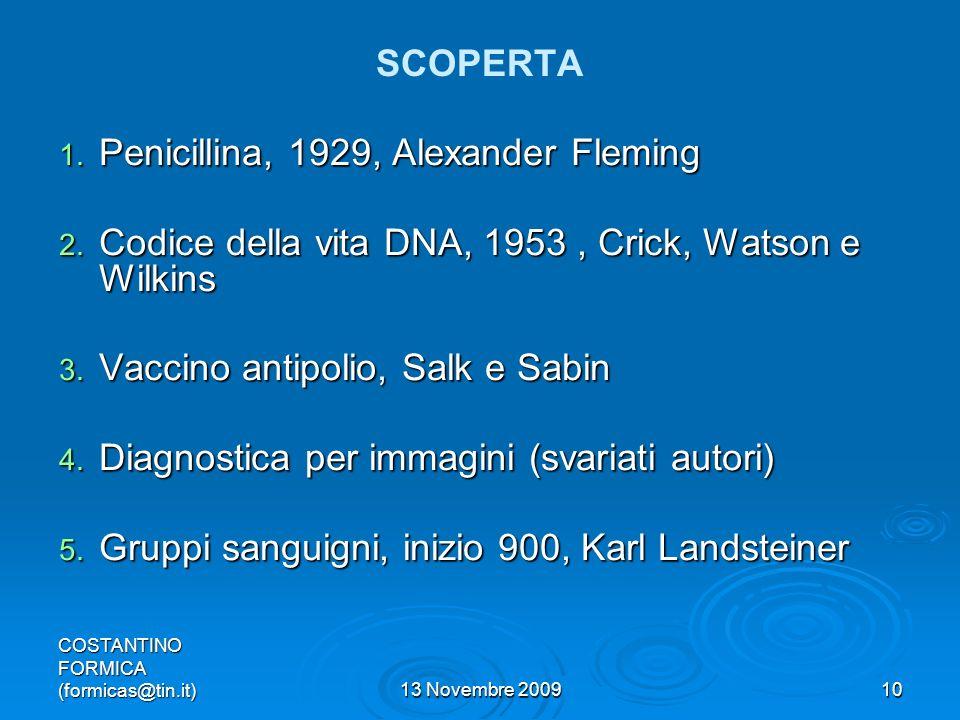 Penicillina, 1929, Alexander Fleming