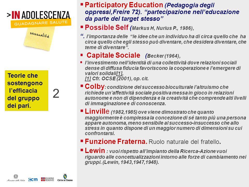 Participatory Education (Pedagogia degli oppressi,Freire 72)