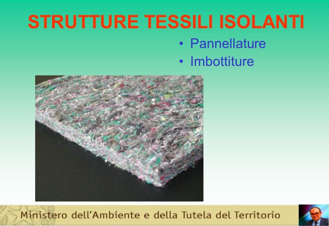 STRUTTURE TESSILI ISOLANTI