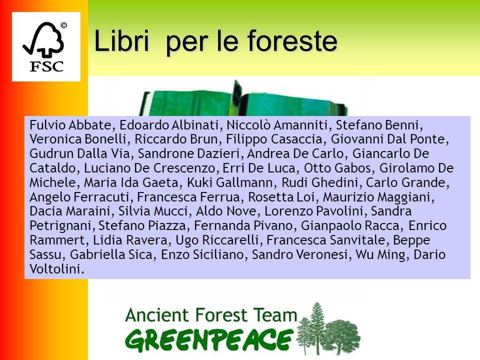 Libri per le foreste Libri per le foreste