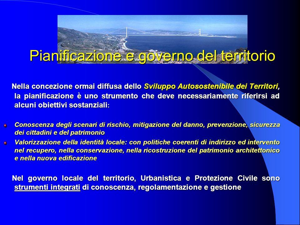 Pianificazione e governo del territorio