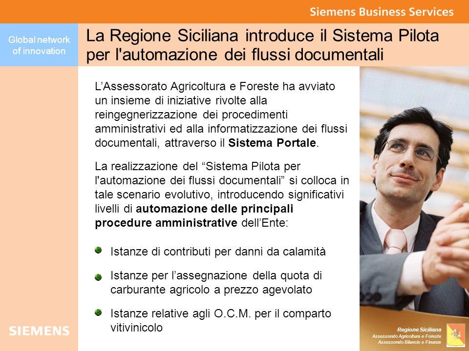 La Regione Siciliana introduce il Sistema Pilota per l automazione dei flussi documentali