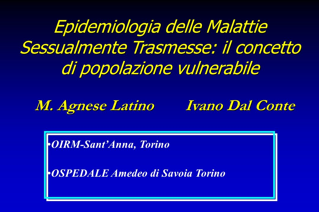 M. Agnese Latino Ivano Dal Conte