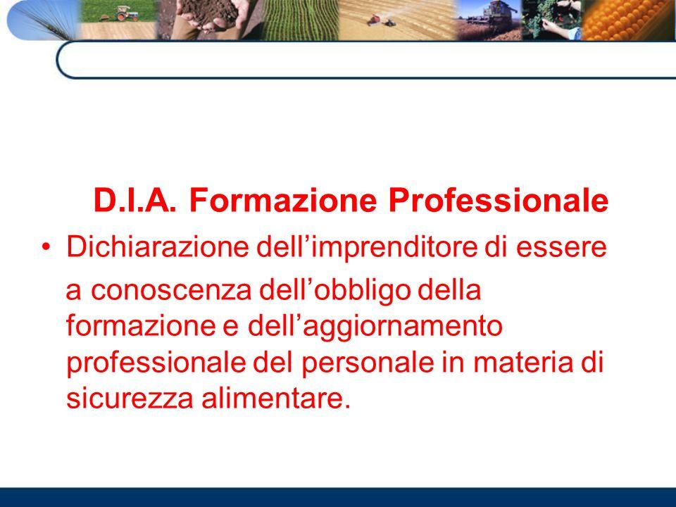 D.I.A. Formazione Professionale
