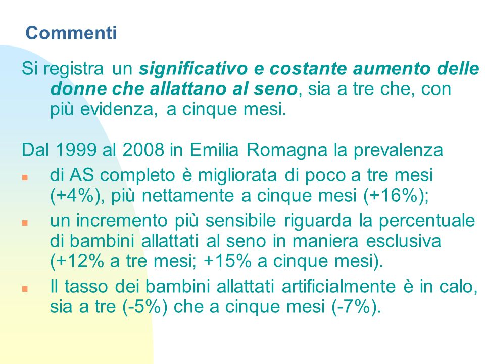 Dal 1999 al 2008 in Emilia Romagna la prevalenza