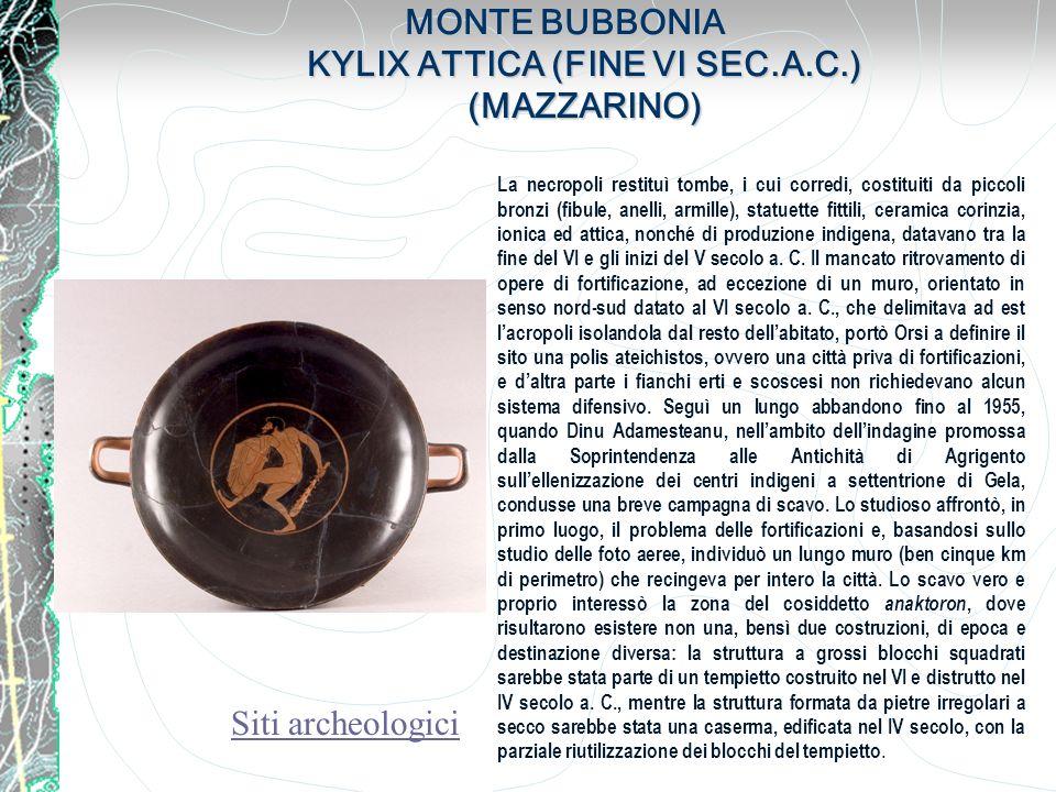 MONTE BUBBONIA KYLIX ATTICA (FINE VI SEC.A.C.) (MAZZARINO)