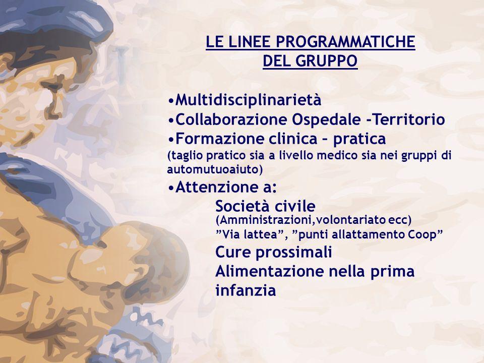 LE LINEE PROGRAMMATICHE