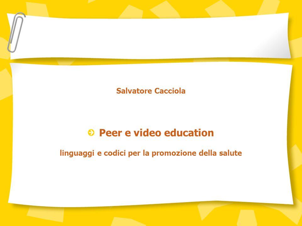 linguaggi e codici per la promozione della salute