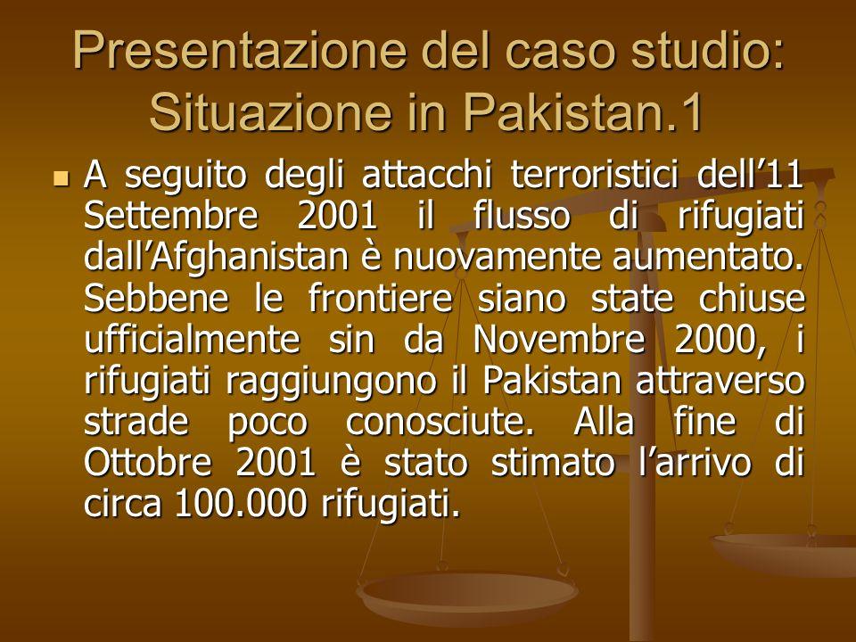Presentazione del caso studio: Situazione in Pakistan.1