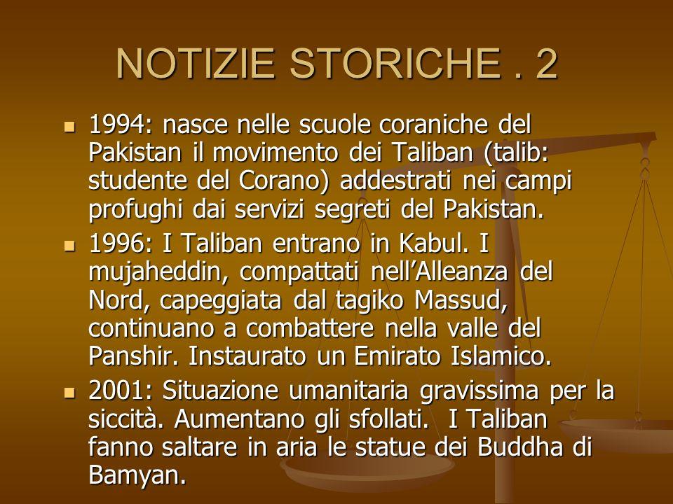NOTIZIE STORICHE . 2