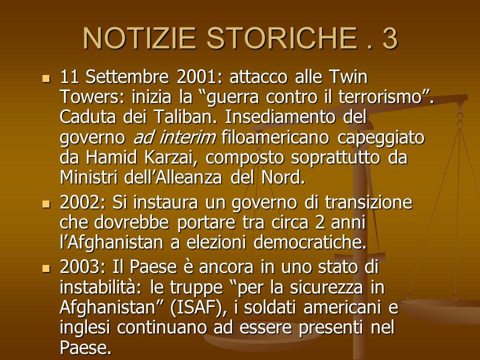 NOTIZIE STORICHE . 3