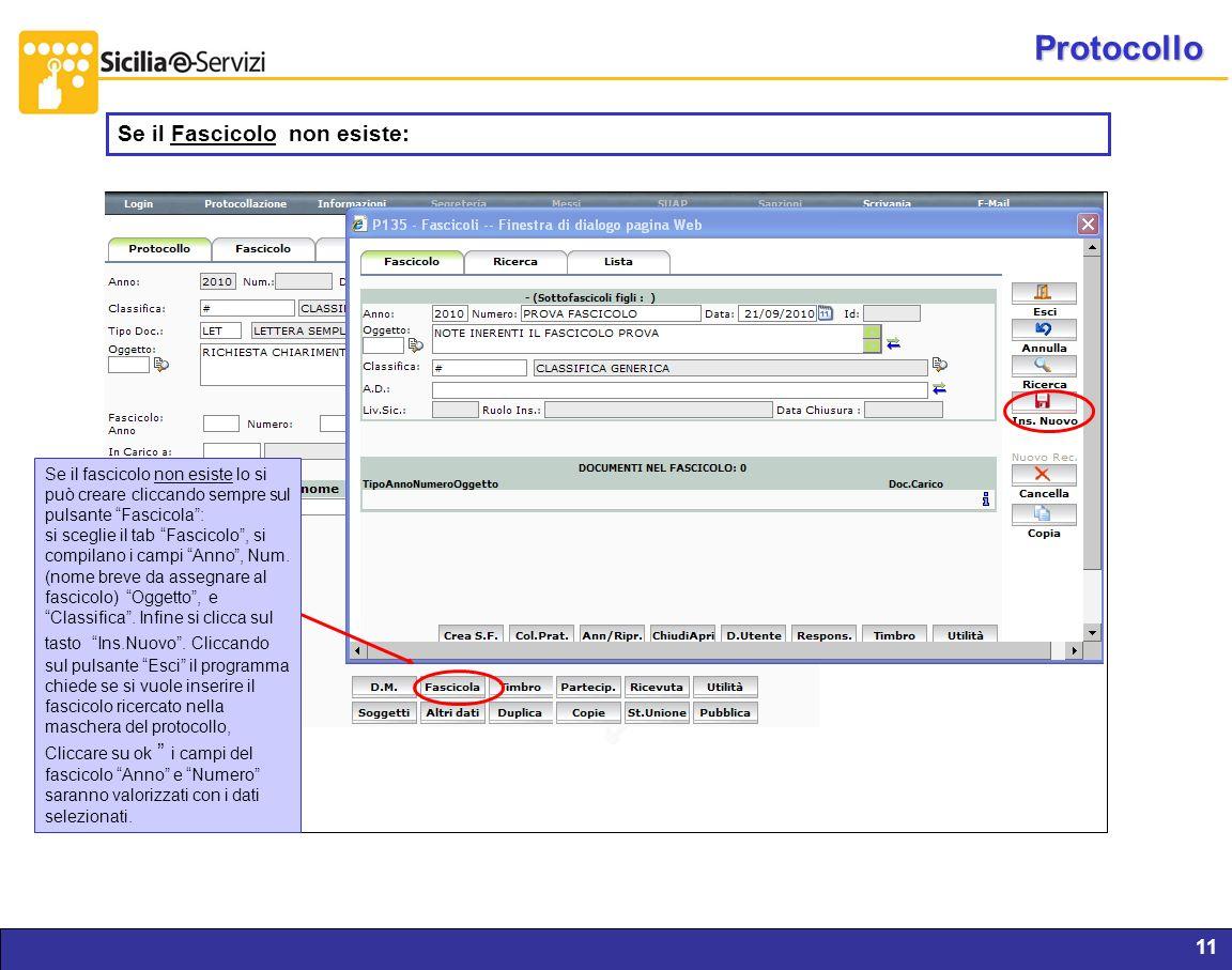 Protocollo Se il Fascicolo non esiste: Report servizi IVR e CM