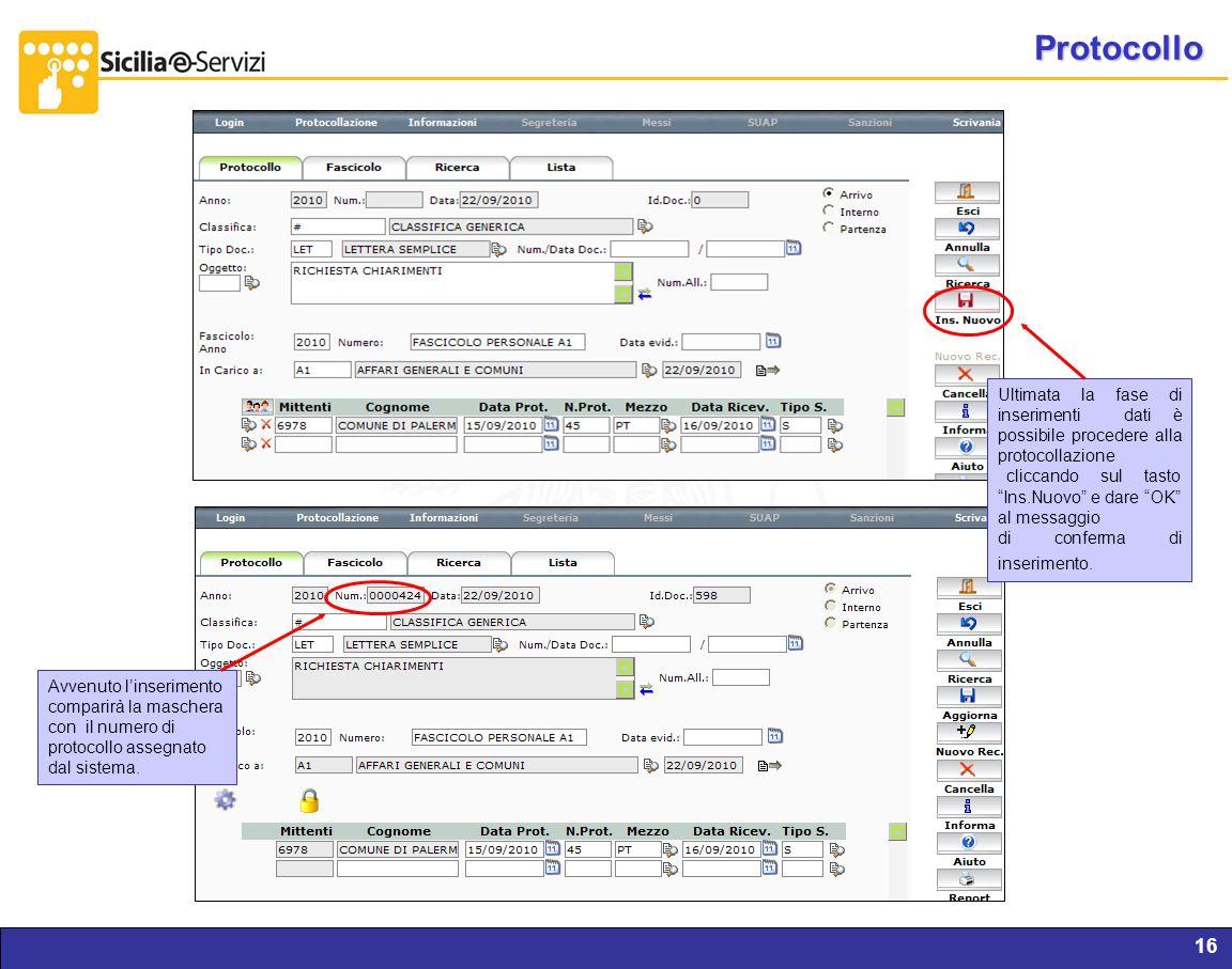 Protocollo Report servizi IVR e CM