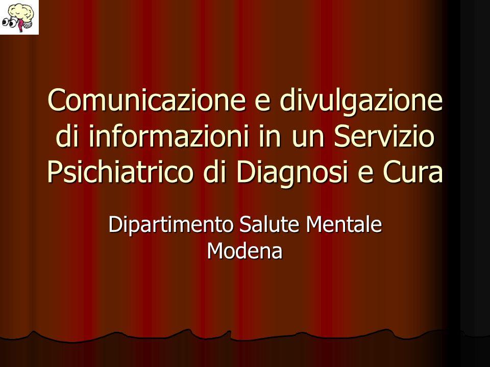 Dipartimento Salute Mentale Modena