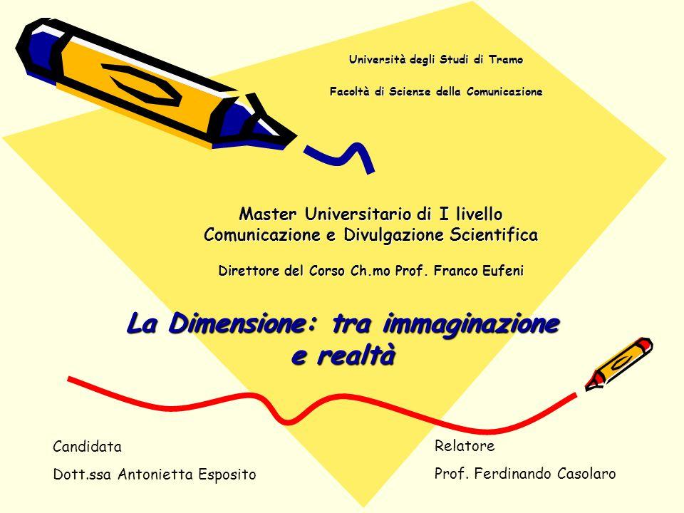 Università degli Studi di Tramo Facoltà di Scienze della Comunicazione