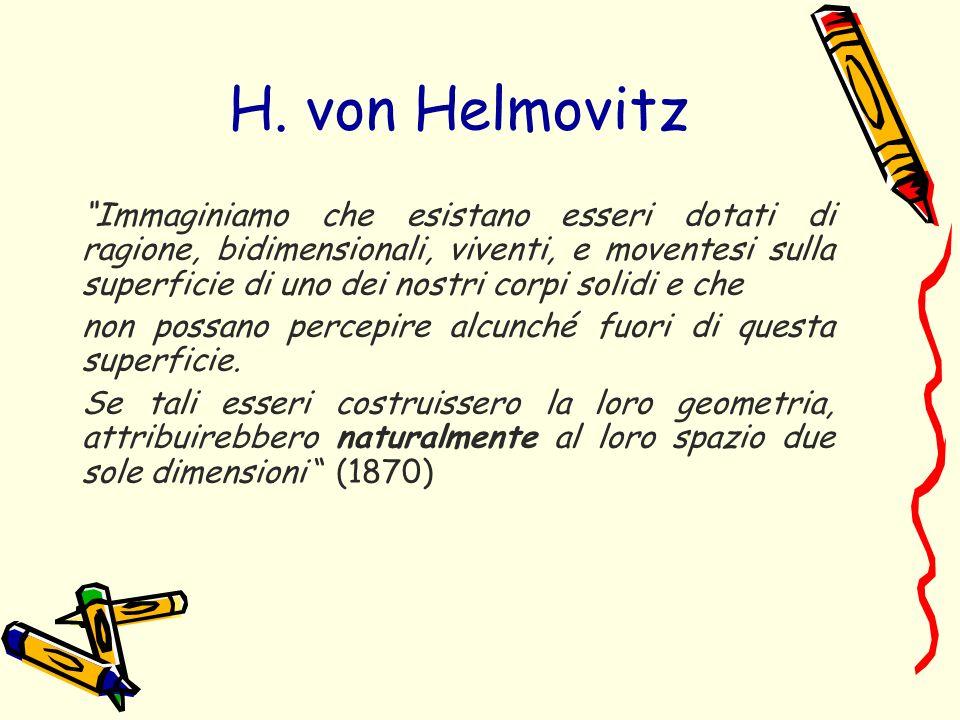 H. von Helmovitz