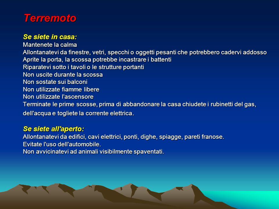 Sistema e strategie della protezione civile siciliana for Planimetrie dell interno della casa all aperto