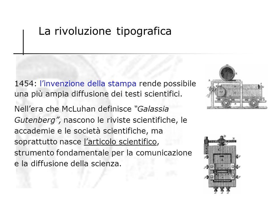 La rivoluzione tipografica