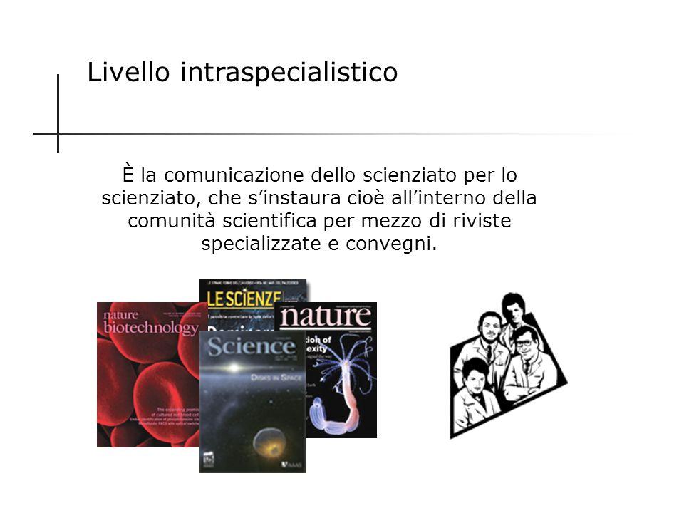 Livello intraspecialistico