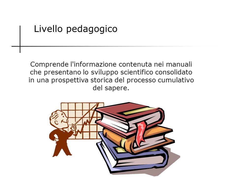 Livello pedagogico