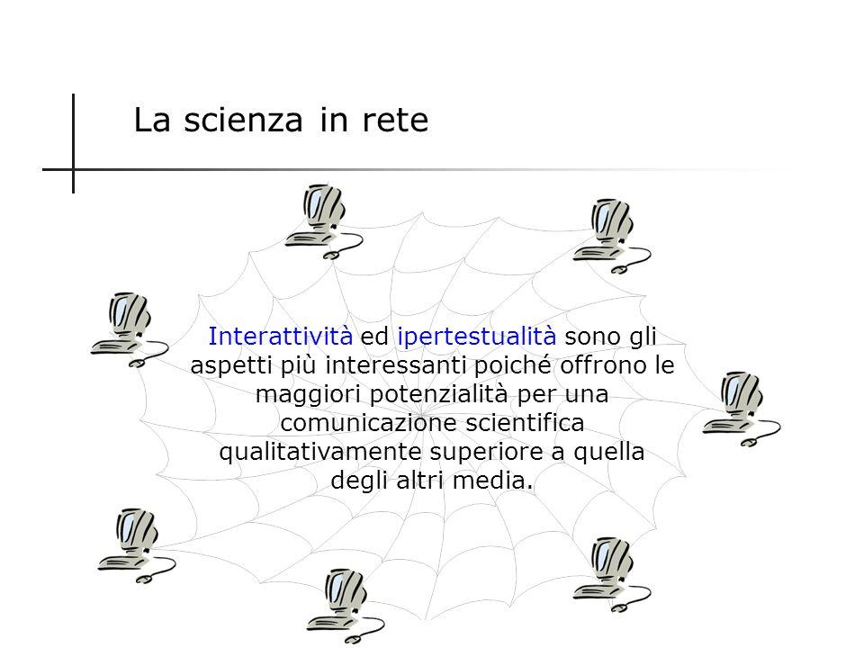 La scienza in rete