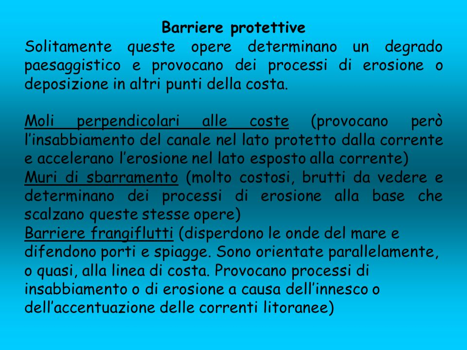 Barriere protettive