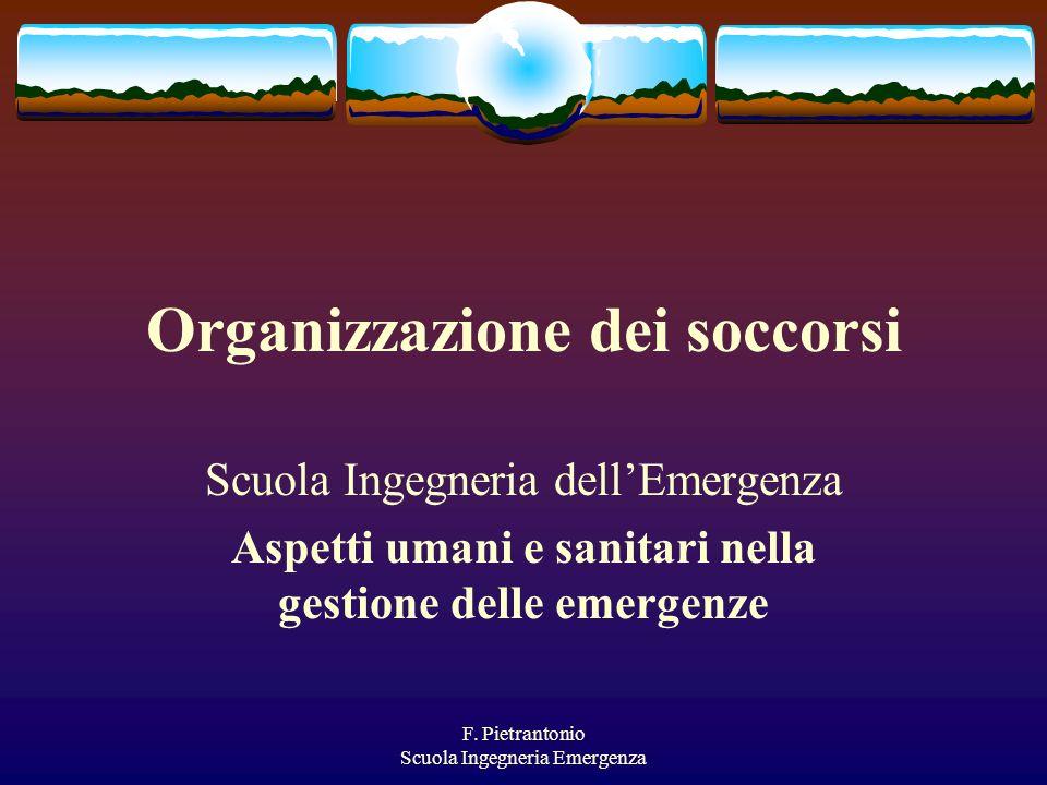 Organizzazione dei soccorsi