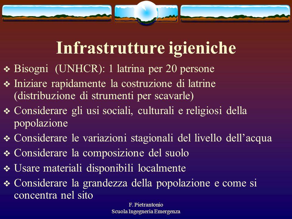 Infrastrutture igieniche