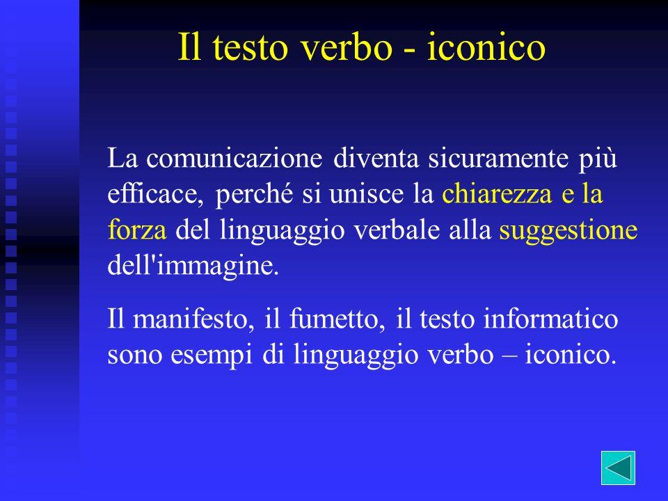 Il testo verbo - iconico