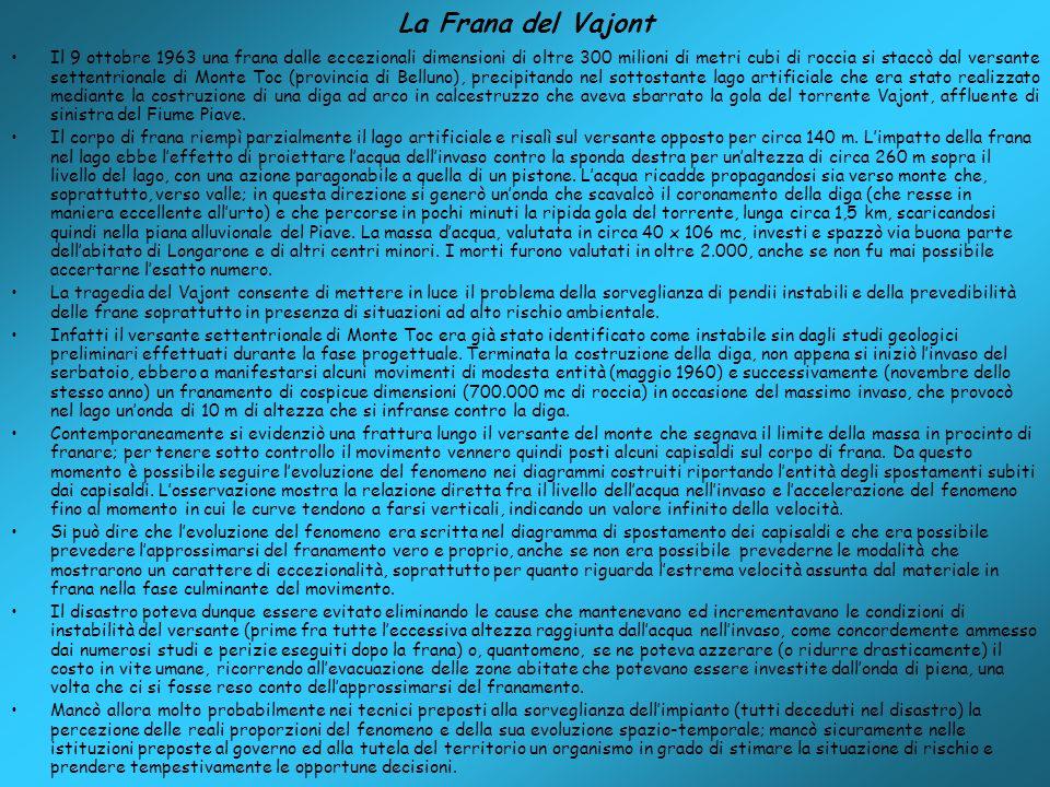 La Frana del Vajont