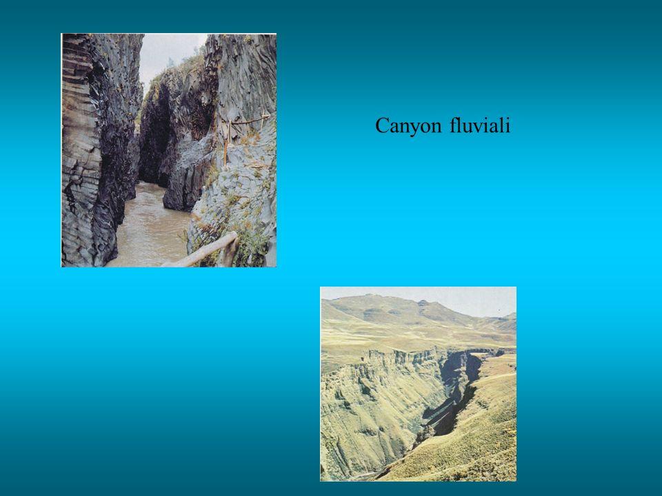 Canyon fluviali