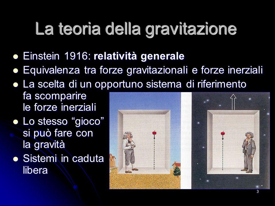 La teoria della gravitazione