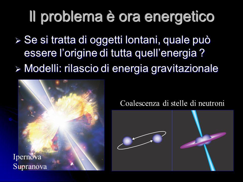 Il problema è ora energetico