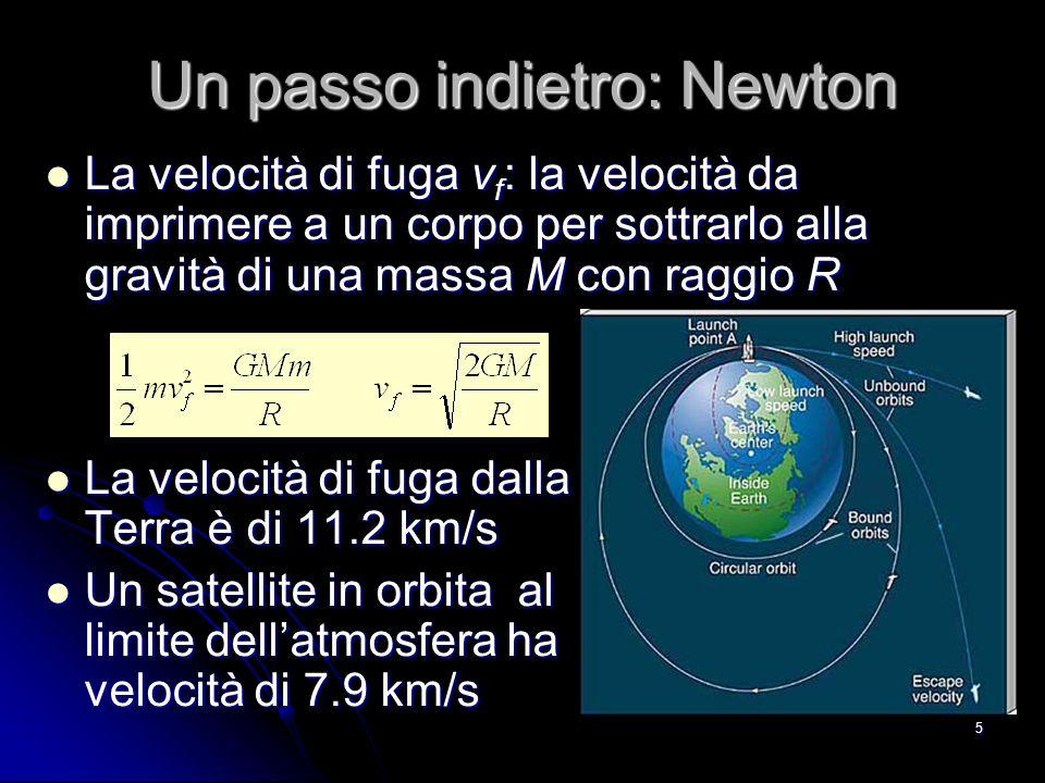 Un passo indietro: Newton