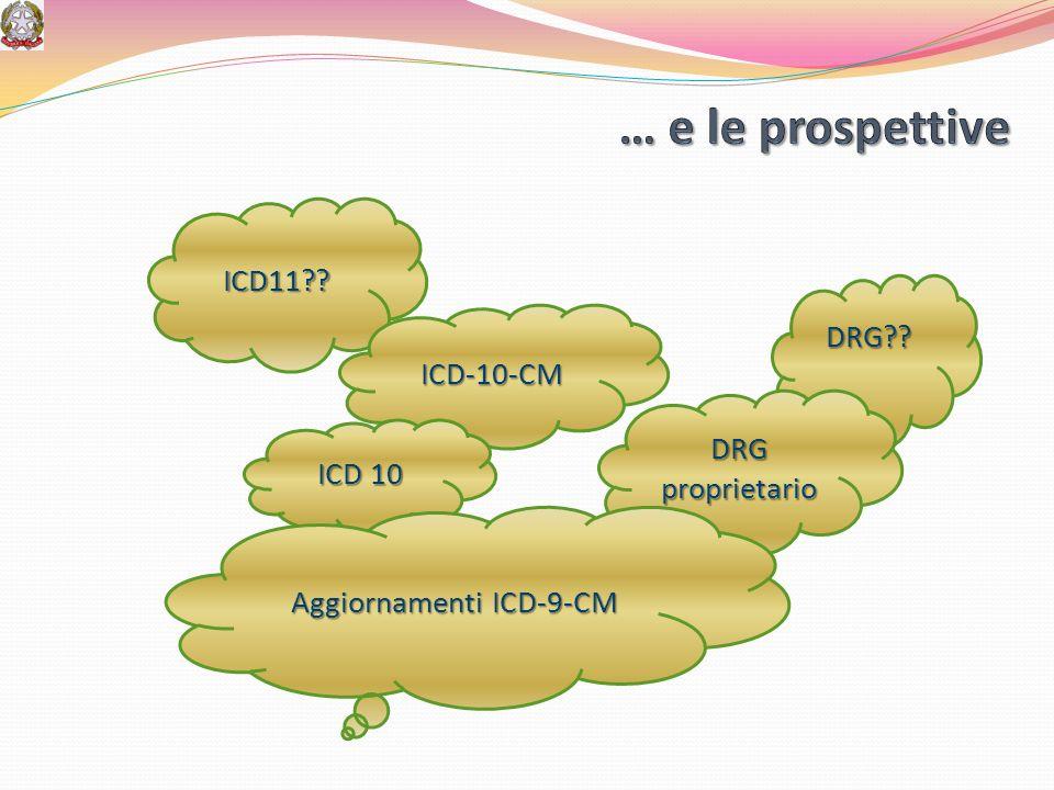 Aggiornamenti ICD-9-CM